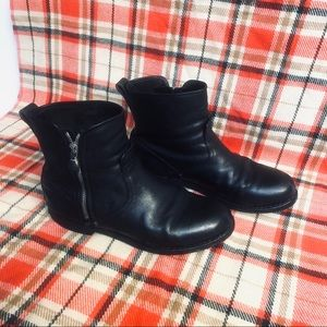 RAG & BONE SHORT ZIP ANKLE BOOTIES SIZE 7